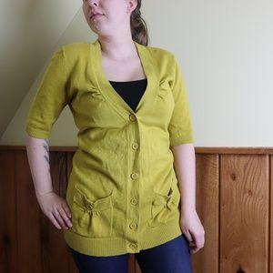 Tabitha Button Up Cardigan Sweater Size Medium